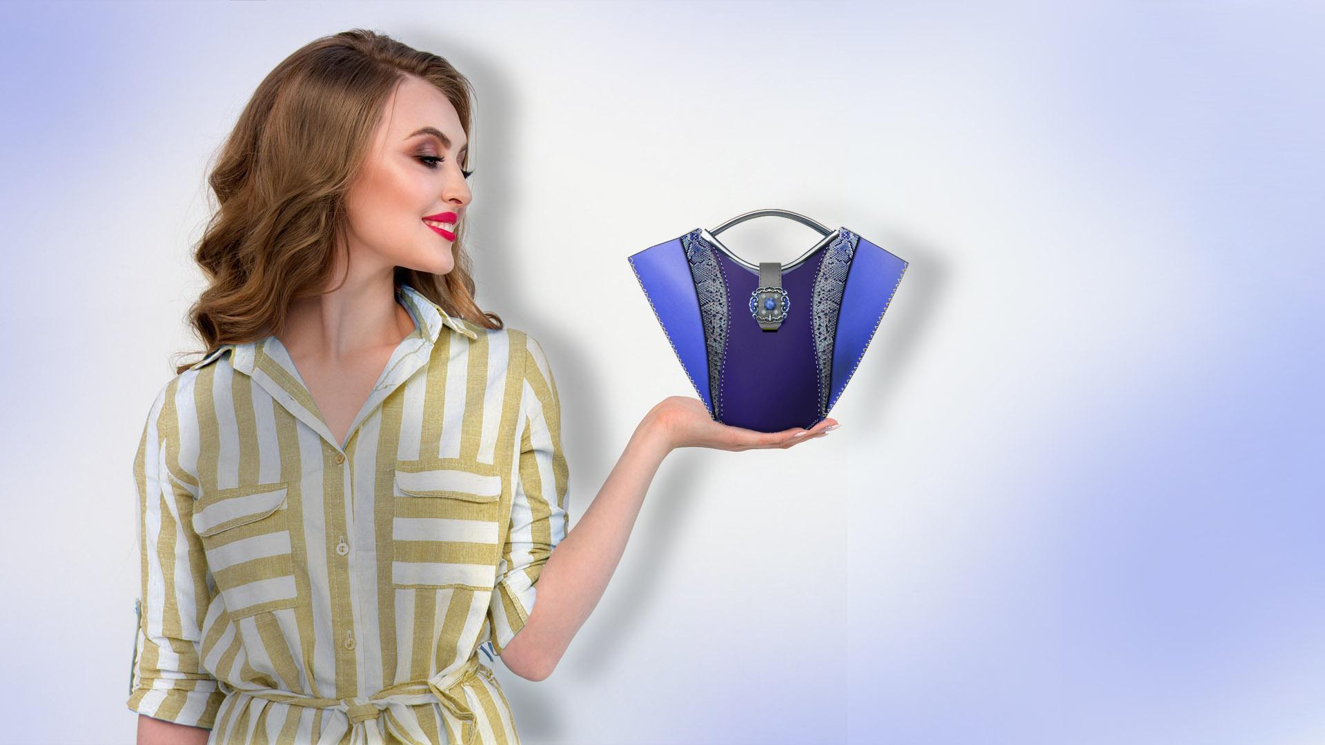 haute couture 2021 handbag by Qlare