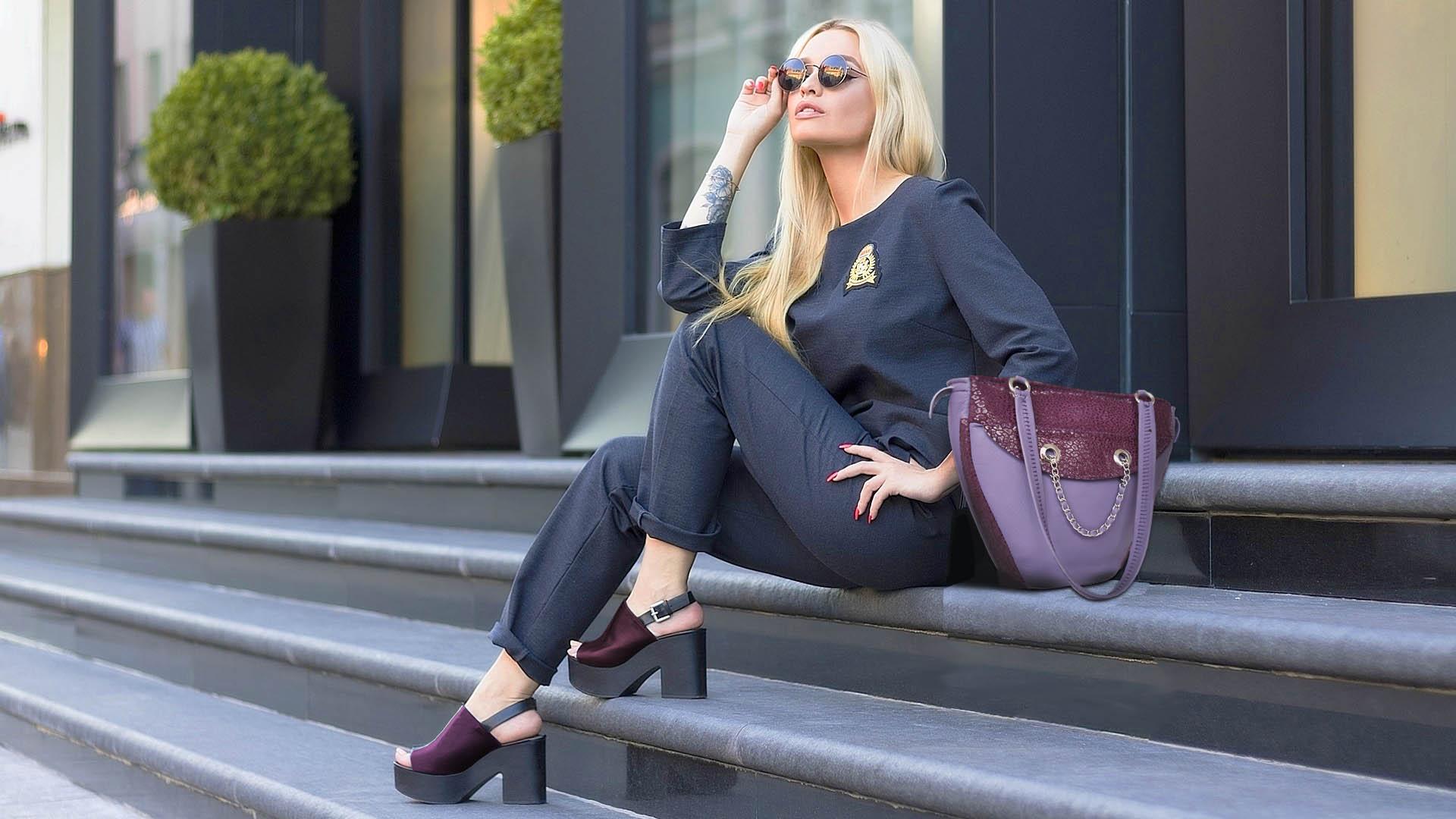 fashion bag designer by Qlare