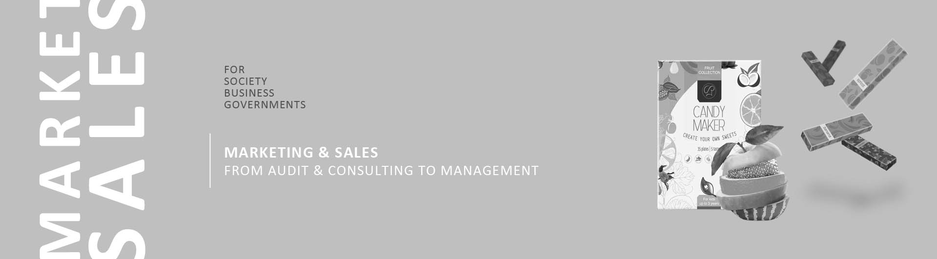 marketing consulting and management