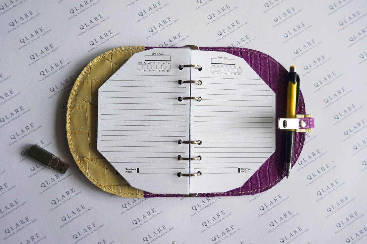 exclusive daily planner design stas qlare shvechkov 2022